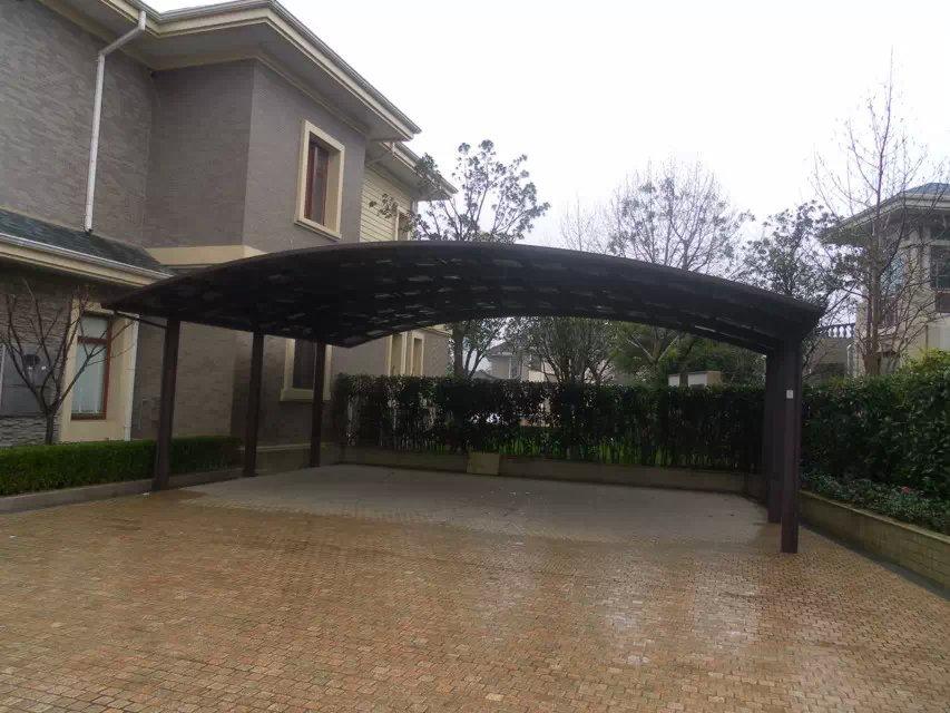 china hersteller aluminium polycarbonat carport garage dach fahrradschuppen produkt id. Black Bedroom Furniture Sets. Home Design Ideas