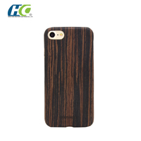 Strong guard protection handmade natural wood phone case for apple iphone 7