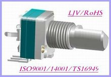 9mm size horizontal rotary potentiometer for lighting control