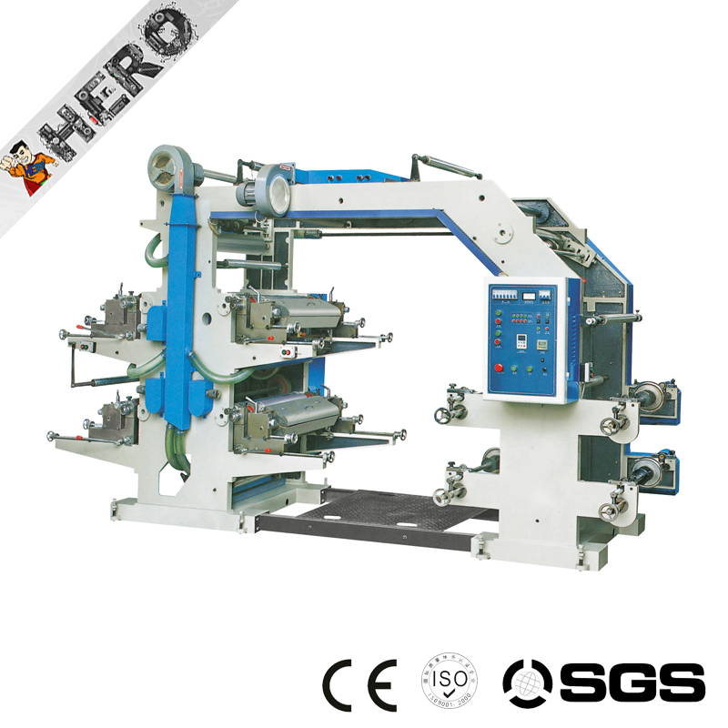 High speed roll to roll plastic film flexo printing machine stack type digital fabric printing machine