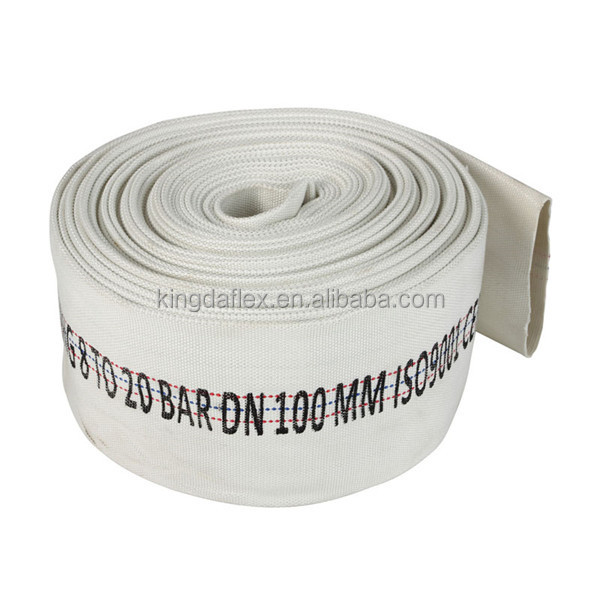 Fire hydrant cabinet rubber PVC lining layflat fire hose