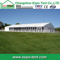 Fashion trade assurance ceremony big garden tent house