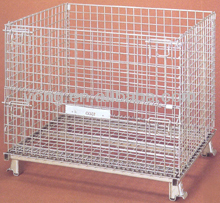 electic galvanized wire mesh containers