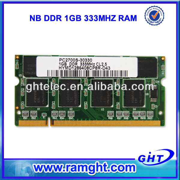 DDR 1GB 333mhz ram china laptop price in india
