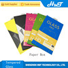 colorful paper package box for tempered glass screen protector