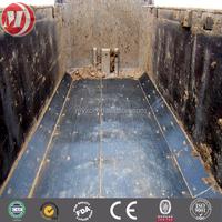 uhmw-pe plastic liner ,chute bunker truck bed liner ,water proof antiwear uhmw pe lining