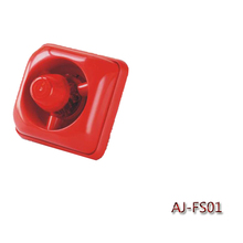 2015 hot sale fire alarm siren with led flash light fire alarm buzzer