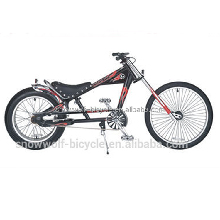 "26"" oversized beach cruiser bike/cruiser bicycle/chopper bike"