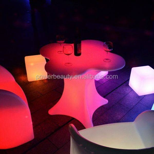NEW ARRIVAL! 2013 LED led light bar table/bar tables and stools for commercial/low bar table