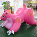 Newly Laying Customized Inflatable Animated Pink Dragon Animal Soft Toy