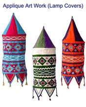 Applique Art Lamp Shades