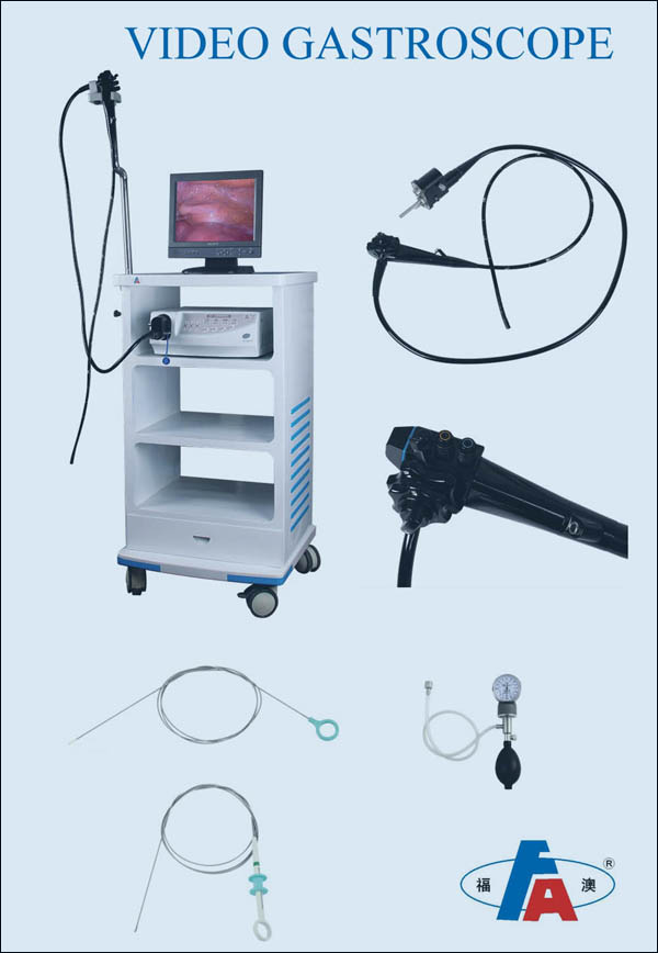 9.8mm CE approved endoscope video flexible gastroscope