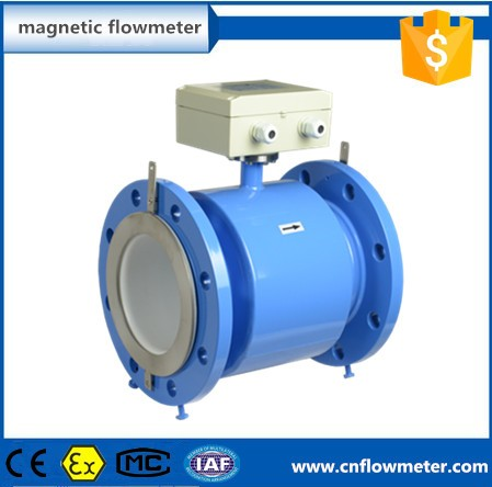 pipeline liquid water magnetic flow meter price