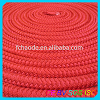 3/8'' 1/2'' 5/8'' 3/4'' colored braid marine fiber ropes for marine supplies