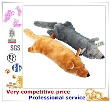 Factory Promotion Custom Made Plush Pet Products fake fur sleeping dog