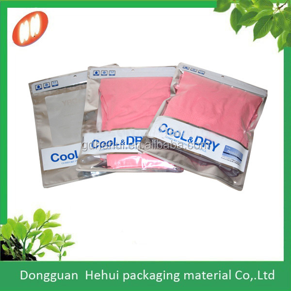 hot sales undershirt satchels for clothing packaging