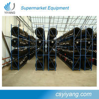 Used stackable warehouse storage metal tyre racking