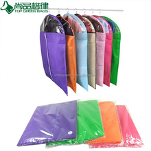 Wholesale Promotional Suit Cover Custom Garment Bag with PVC pocket