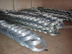 Hot dip iron wire/electro galvanized iron wire/zinc coated iron wire
