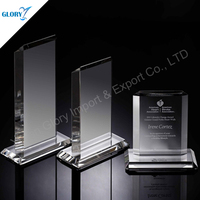 Custom Shaped Blank Acrylic Award For