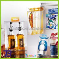Clear plastic boxes for wine glass