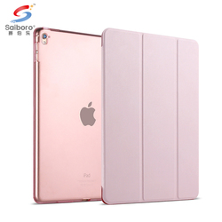 Solid polycarbonate plastic shell back case for ipad air 1/2 mini 4 case, rugged for apple ipad pro 12.9 tpu case