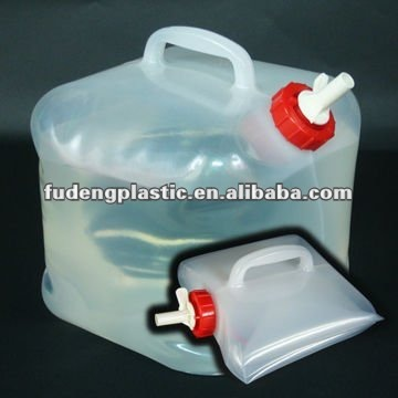 2.5Gallon Fold Water Barrel / 10Liter Collapsible Water Container
