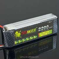 New 11.1V 2200mAh 3S 30C Li Lion Power Li-Po Battery for Helicopter