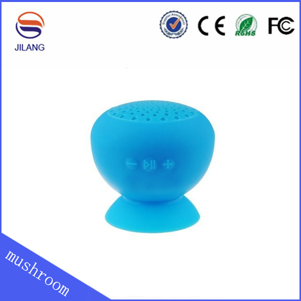 factory price mushroom music mini Bluetooth shower Speaker