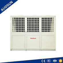 60HZ Market Business Air Source Heat Pump Water Heater,74/90KW bathing & sanitary hot water in hotels/restaurants project,Audsun