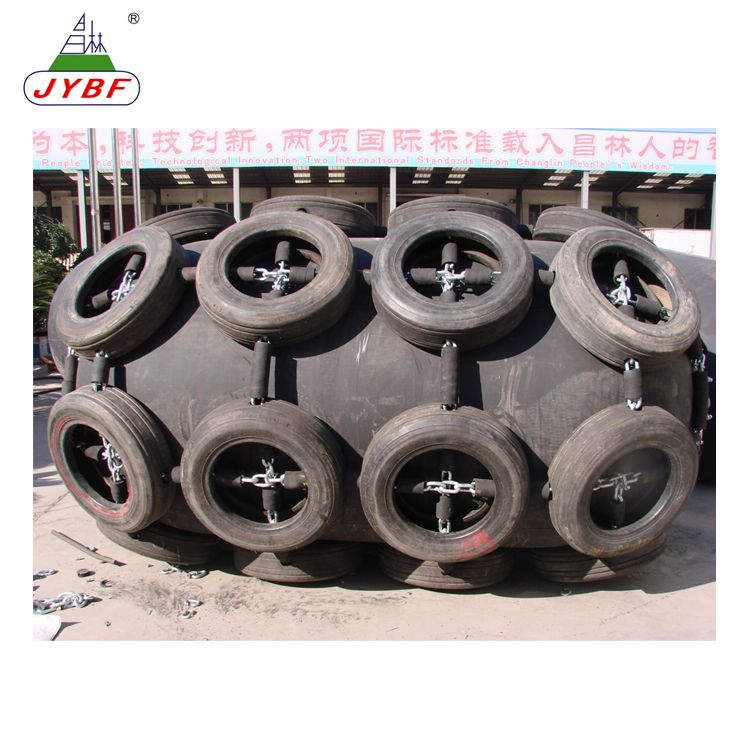Floating type pneumatic rubber fenders