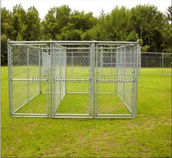 Dog Kennel Run & Pet Enclosure Run Animal Fencing Fence Playpen 4mx4mx1.83m