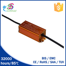 20w 30w waterproof ip67 dc 27-42v CE EMC SAA TUV constant current led power supply