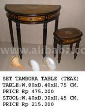 Set Tambora Table