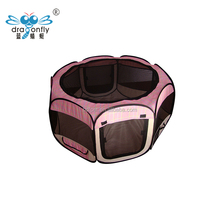 full stocked Indoor Folding Fabric Playpen Pet Dog Play Exercise Pen