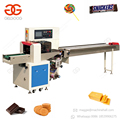 Automatic Flow Type Ice Lolly Facial Tissue Packing Packaging Price Samosa Cucumber Protein Chocolate Bar Wrapping Machine