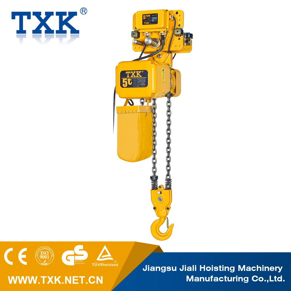 TXK Chain look for Egypt agent Material handling equipment Electric chain hoists