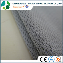 Breathable double layer 100% polyester bird eye mesh fabric for sportswear