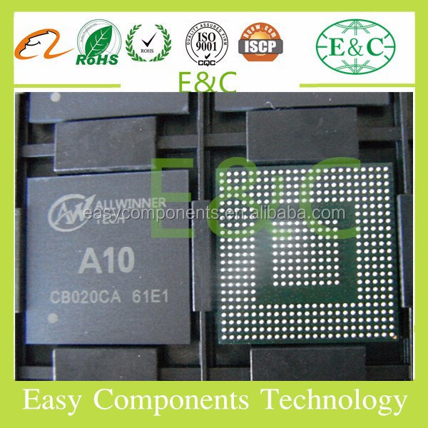 New and Original allwinner <strong>a10</strong> cortex a8 1.2ghz BGA IC for tablet pc A20 A33 A31 A80 A83T A23 IC