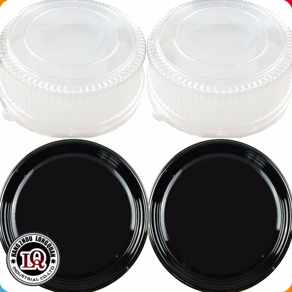 Clear Plastic Packaging Round Cake Box