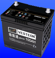 Various models 12v Maintenance Free Car battery MF Battery