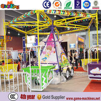 simple rotating flying chair for pleasure ground rotating flying chair for kids games