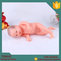 High quality plastic infants mannequin in skin color full body cheap