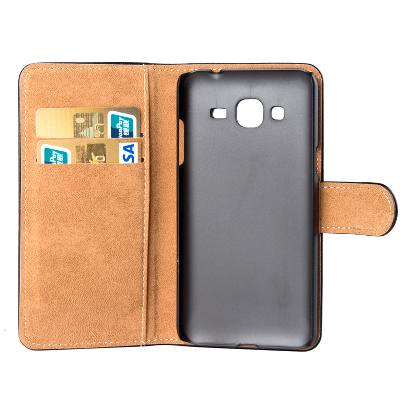 For samsung j3 2016 genuine leather phone case