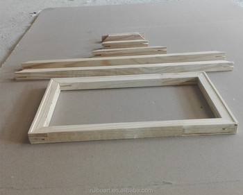 wood stretcher bars for canvas painting