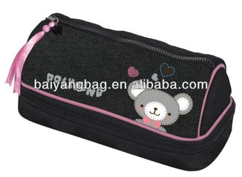 2 layers children pencil case