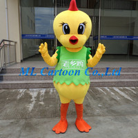 Game playing customized christmas china chicken Easy Cartoon Costumes for sale