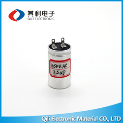 2016 hot sale air conditioner spare parts excellent quality cbb60 capacitor