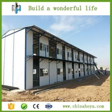 Qatar prefab rockwool sandwich panel staff accommodation for sale