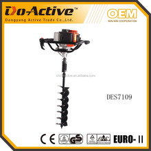 71cc digger driller one man portable auger manual handle CE EMC